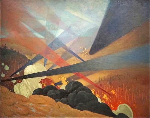 Verdun par Félix Vallotton (Musée de l'Armée, BDIC)