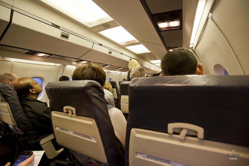 Dash 8 Economy Class Cabin