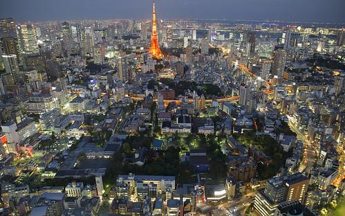 city sunset urban japan skyline night tokyo twilight lowlight downtown cityscape view nightshot dusk tokyotower metropolis roppongi bluehour metropol bestshot skyneedle nikond600 tamron2470mmf28
