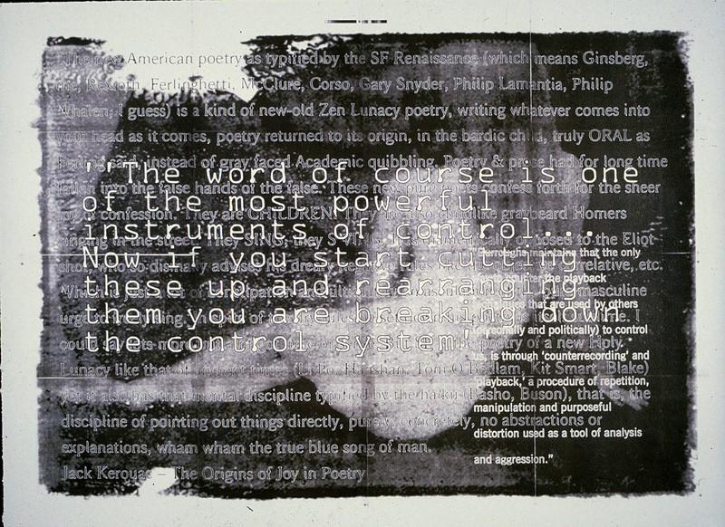 The Word by Elliott Earls (Graduate School Work)