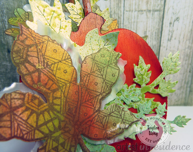 Autumn decor cloesup
