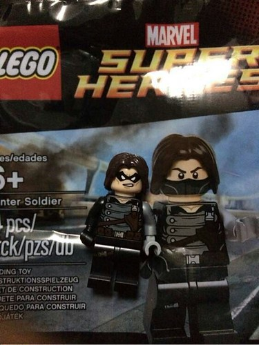 LEGO Marvel Super Heroes Winter Soldier Polybag