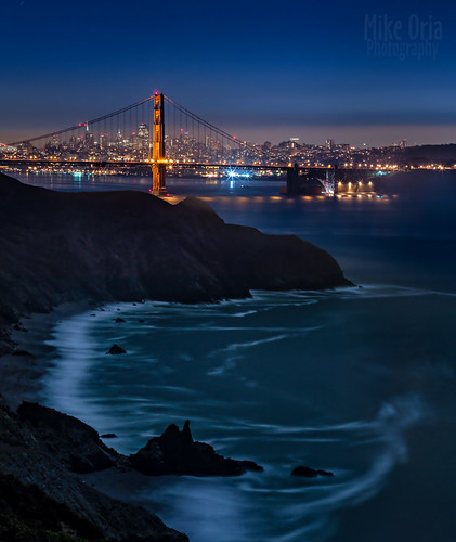 sanfrancisco california longexposure night pentax marin goldengatebridge headlands sausalito ggnra ggb 645d mikeoria