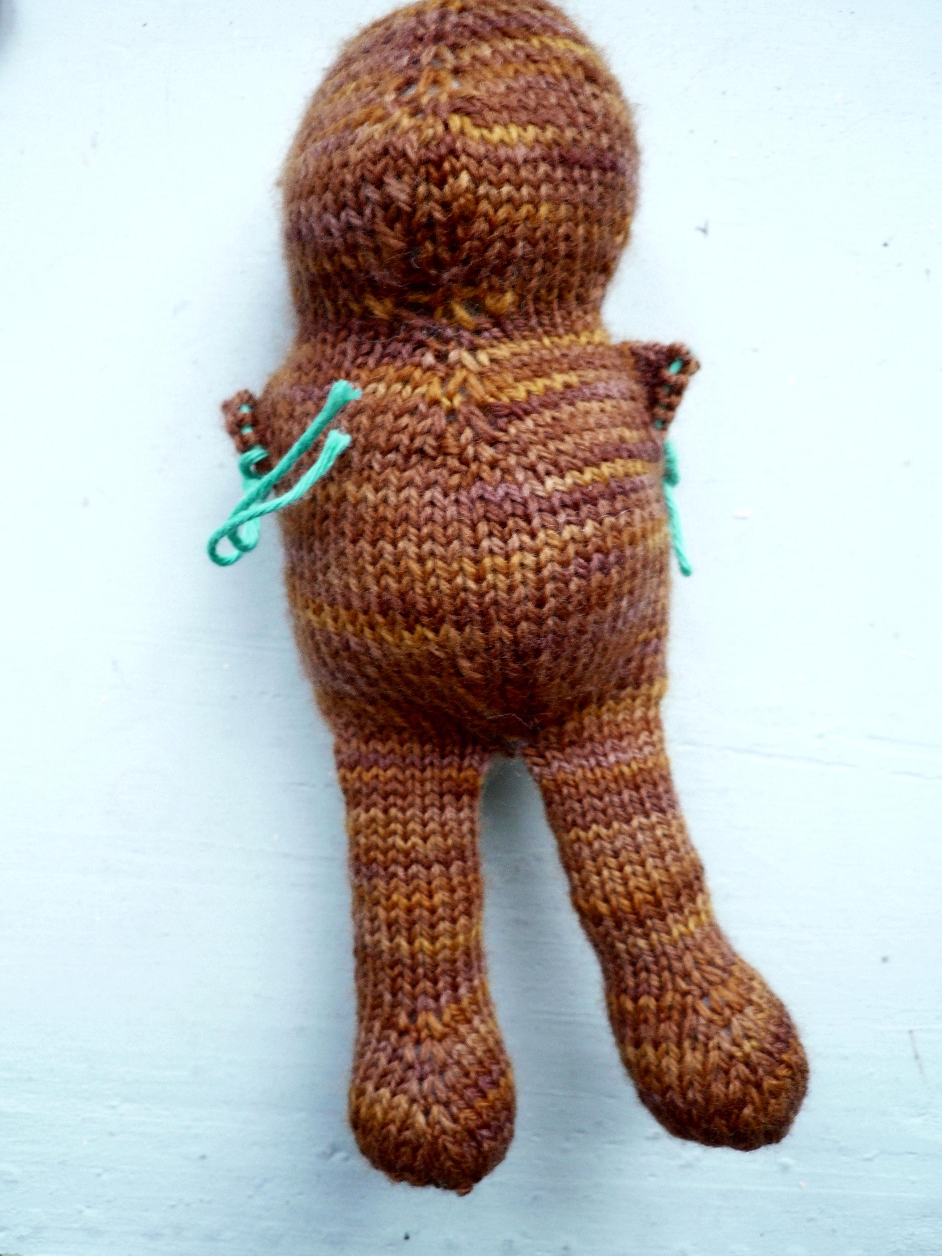 Armless bear 3