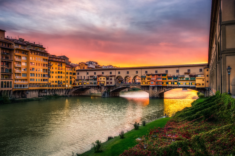 Top 10 Things to See in Florence, Italy: Ponte Vecchio Sunset - Florence, Italy