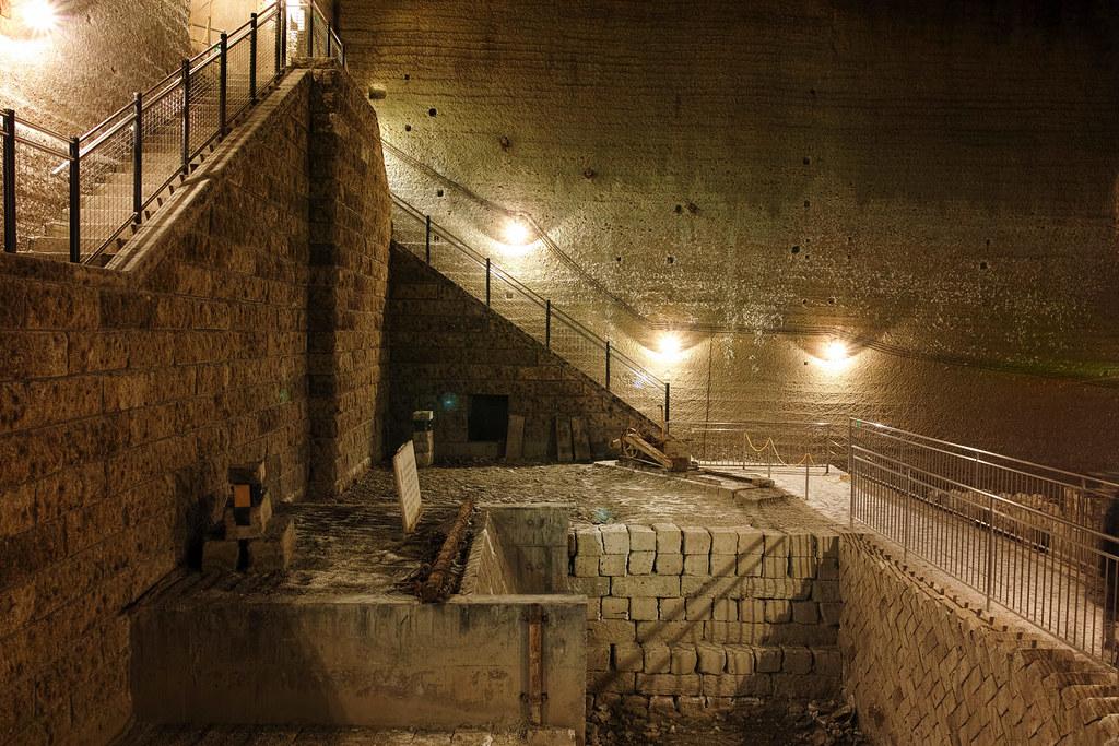 大谷資料館地下坑道入口部分