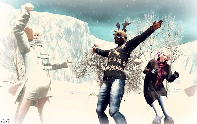 Snowball fight - II - Jewell attacks!