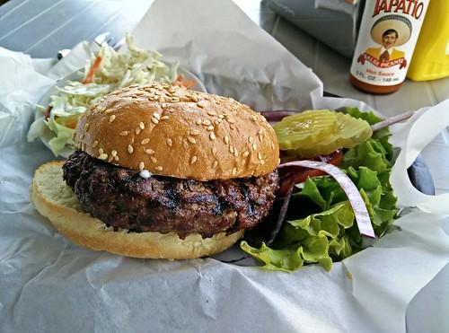 Two Niner Diner Burger