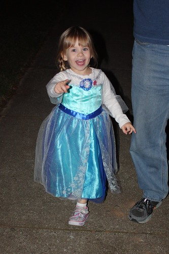Our little Elsa on the move