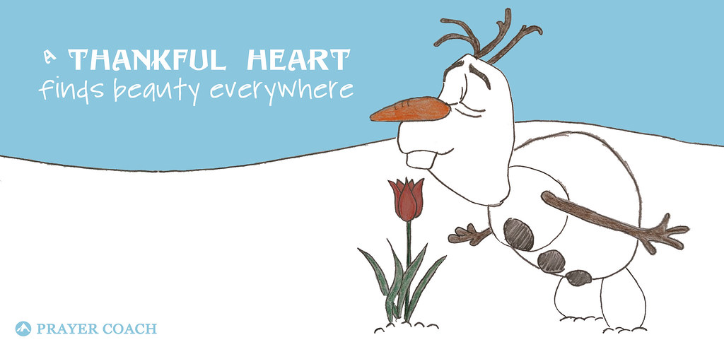 Olaf Thankful Heart