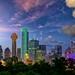 Dallas at dusk by Dibrova