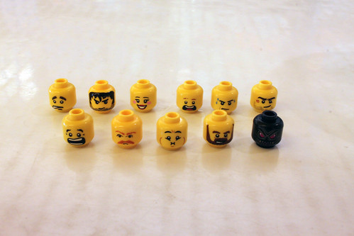 LEGO 2015 First Quarter Build-A-Minifigure Elements