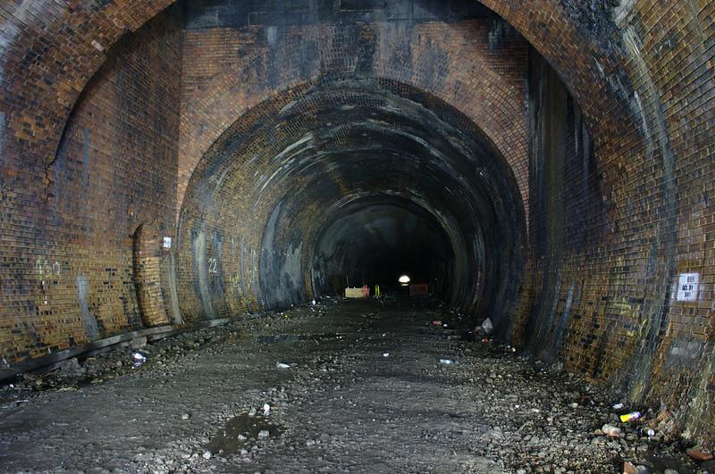 Ventilation shaft in Kelvingrove Tunnel