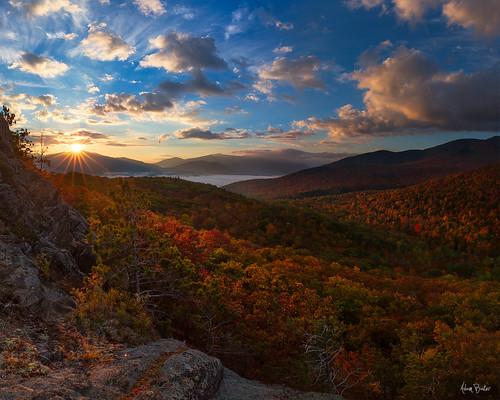 new york morning autumn ny mountains fall sunrise canon landscape high upstate adirondacks foliage peaks adambaker 5dmkiii