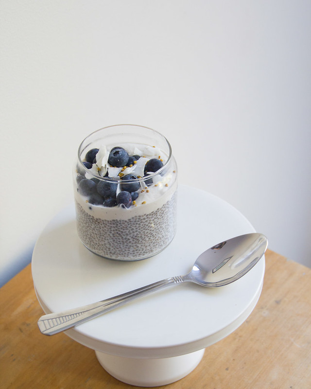 basic beautiful chia pudding