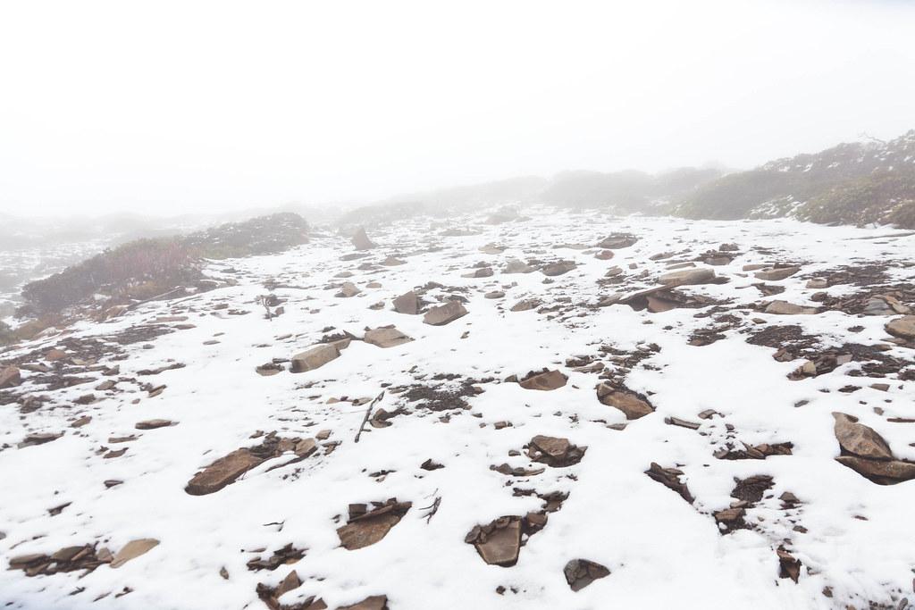 積雪的半路