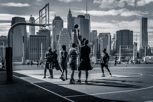 Court with a view
