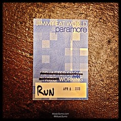 Jimmy Eat World & Paramore - 04/08/08 #tbt #throwback #throwbackthursday #musicsumo