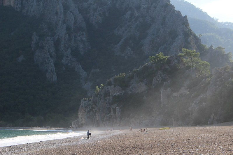 Olympos beach, Turkey