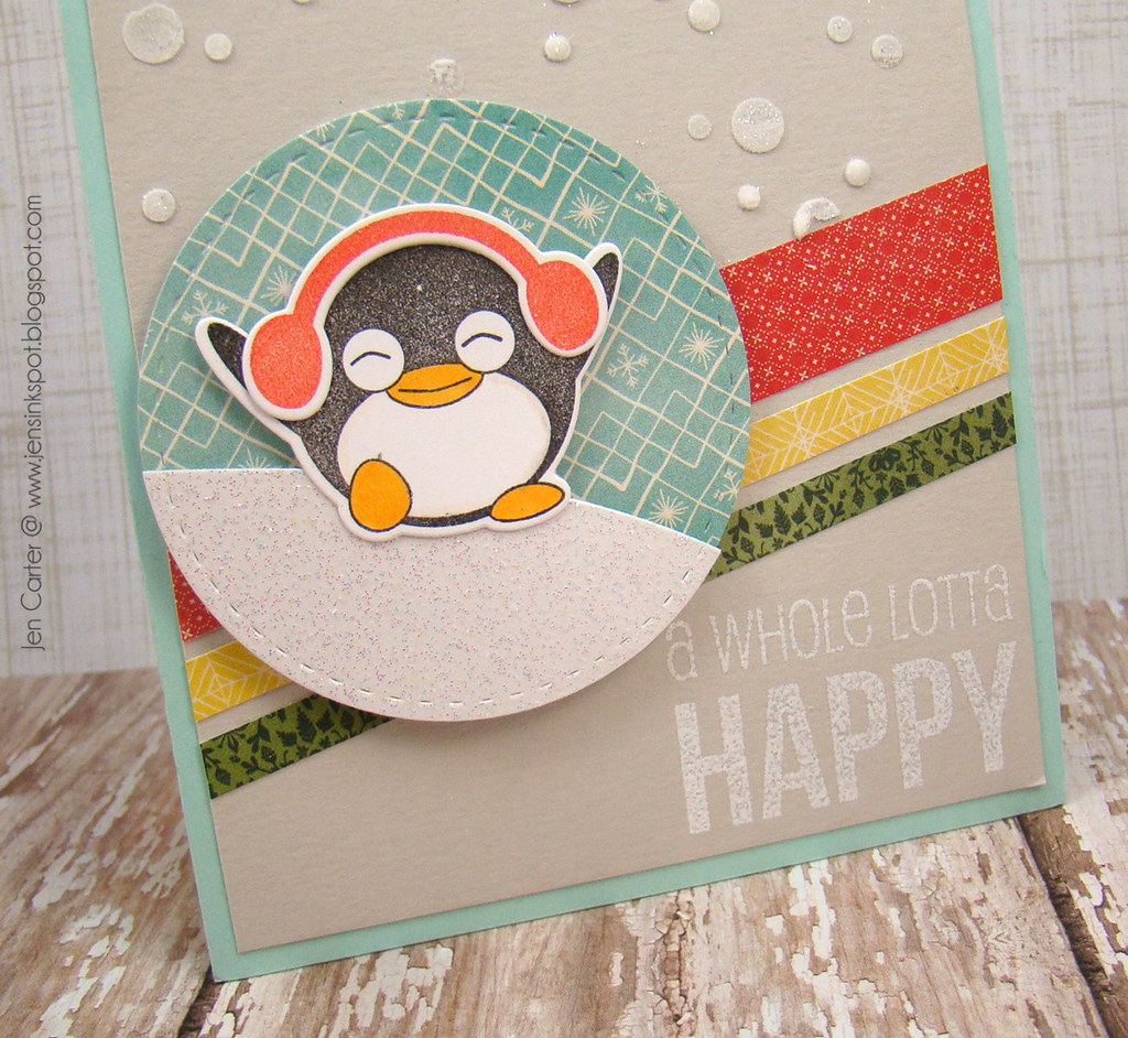 Jen Carter Whimsy Penguin Fun Happy Everything Closeup