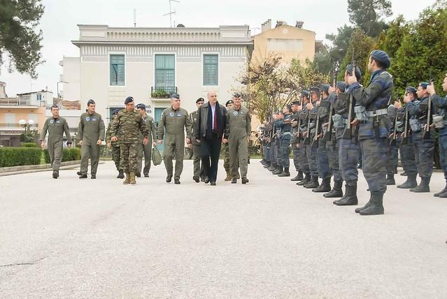 Ολοκλήρωση Επίσκεψης ΥΕΘΑ Νίκου Δένδια σε 1η Στρατιά-Ε/ΕΣΕΕ-ΑΤΑ