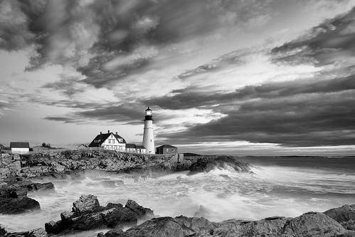 storm unitedstates maine phl portlandheadlight capeelizabeth