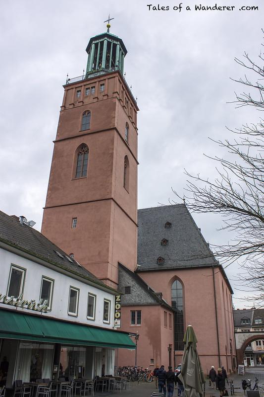 DARMSTADT - Stadtkirche Darmstadt
