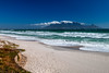 View on Cape Town from Bloubergstrand