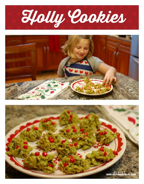 holly cookies4