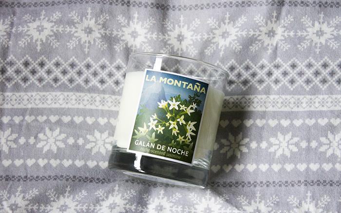 La Montana Galan De Noche Candle
