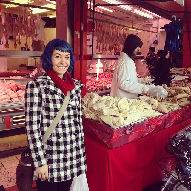 Hi, I love meat 🍗🍔🐔 #lladybirdinlondon