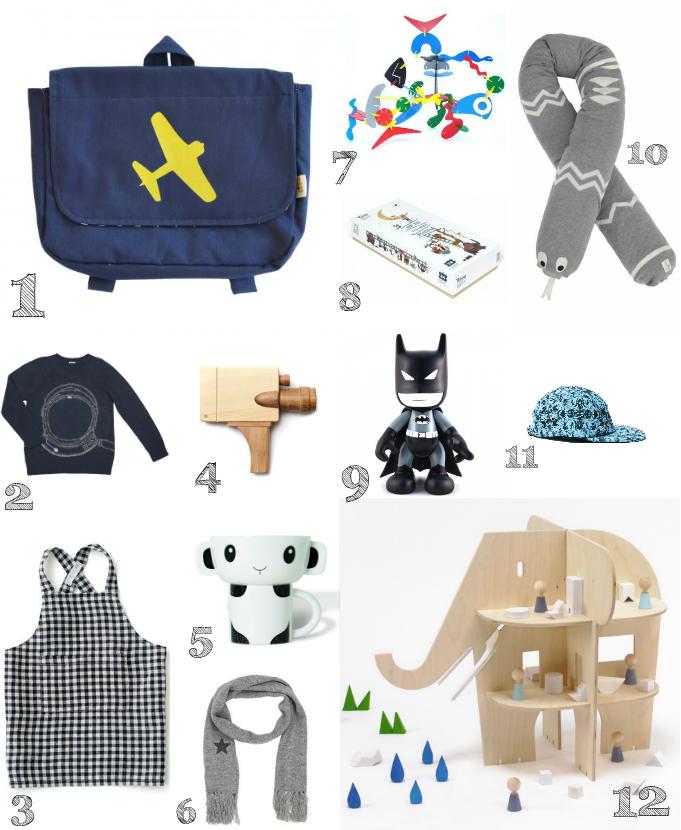 Paul&Paula blog: gift guide xmas 2014 - toddler boy
