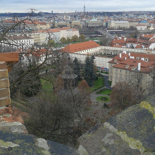 View over #Praha from the #PrahaCastle #Prague