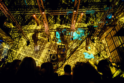 The Hilliard Ensemble bei der Yellow Lounge im Berghain in Berlin am 29.10..2014