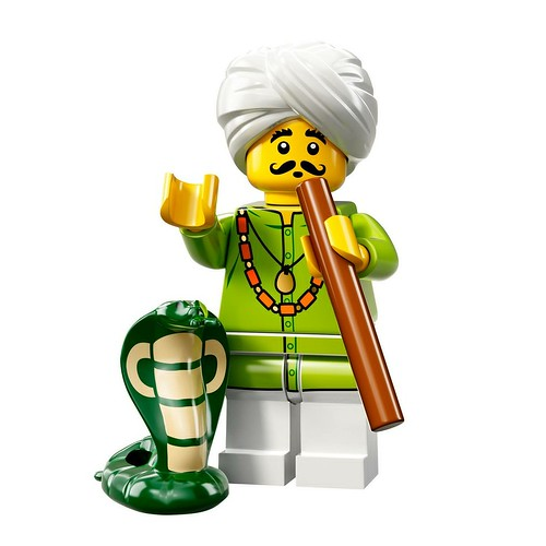 71008 Collectable Minifigures Series 13 Snake Charmer