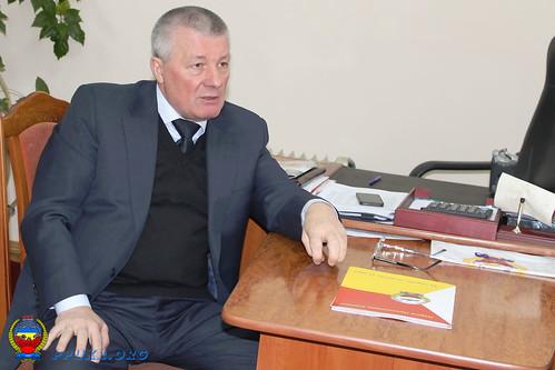 Встреча Председателя ППУ и Начальника главного управления пенсионного фонда Украины в Ивано-Франковской области (2)
