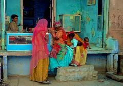 femmes au bazar de jodhpur (rajasthan) - Version 2