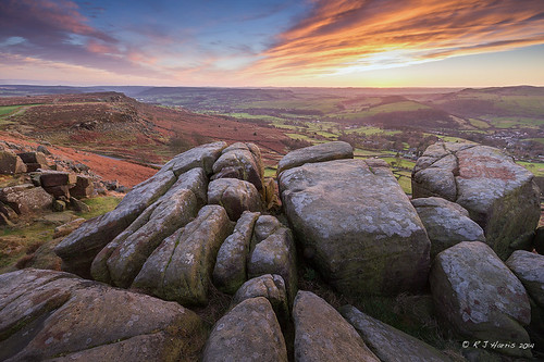 uk pink winter sunset orange clouds canon nationalpark rocks december derbyshire peakdistrict ngc hills gb british peaks goldenhour 2014 curbaredge 1dx leefilters canon1dx
