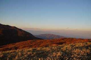 099 Uitzicht vanaf mt Komagatake