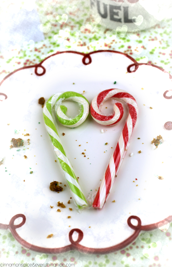 Candy Cane Heart from Santa Claws