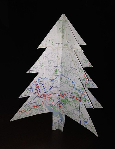OpenStreetMappy Christmas Card
