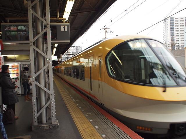 鶴橋から伊勢志摩ライナーに乗る