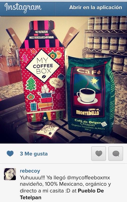 Gracias Rebeca por la foto en instagram