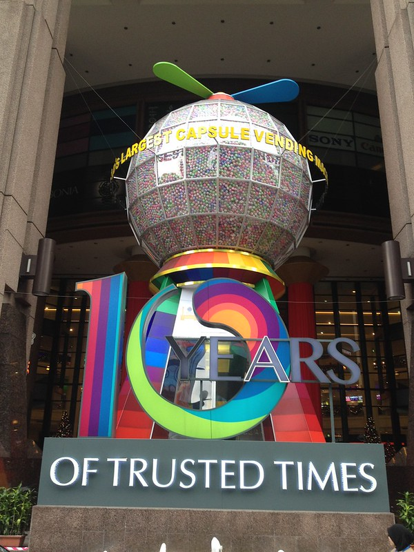 Berjaya Times Square, Day 5: Berjaya Times Square, Jurnal Suzannita