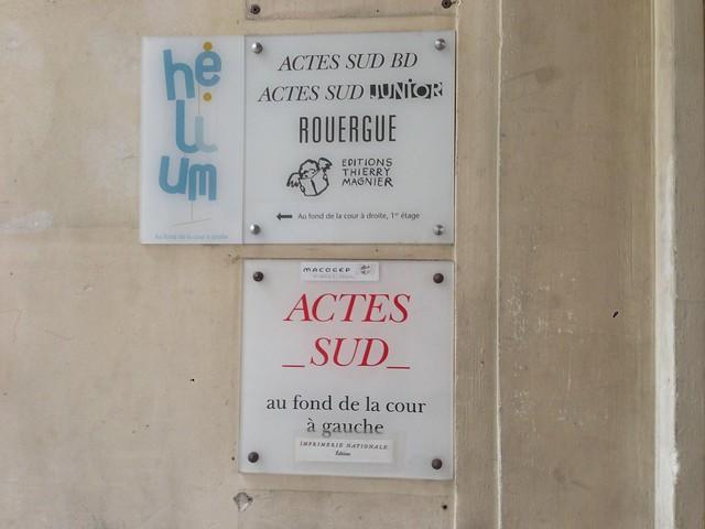 Actes Sud - siège parisien