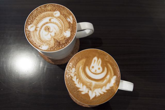 Adorable latte art