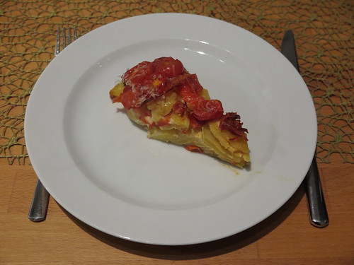 Kartoffelpfanne nach Tortilla-Art (Stück)