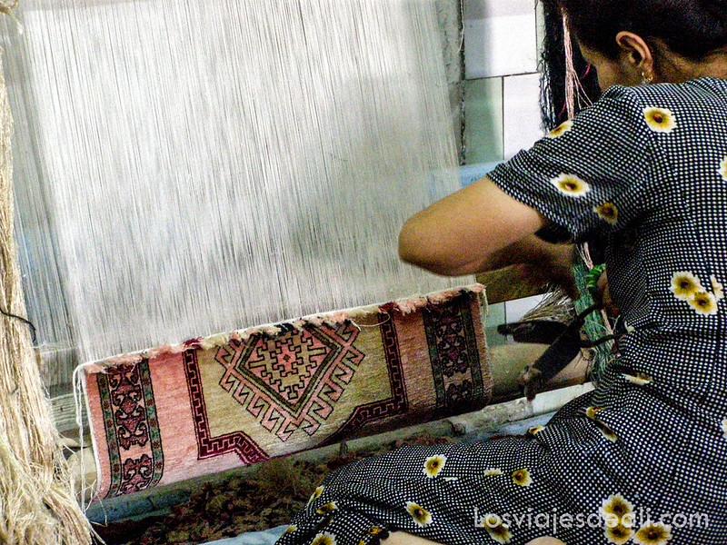 valle de fergana telares tradicionales