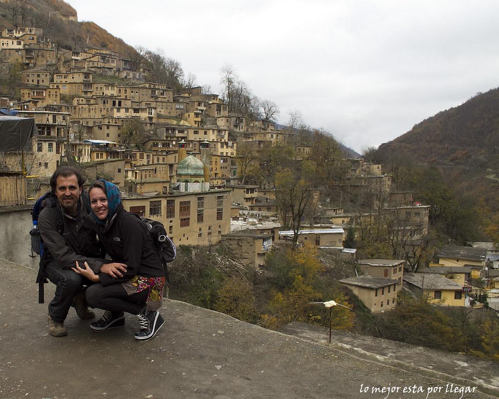 Visita de Masuleh en Gilan, Irán
