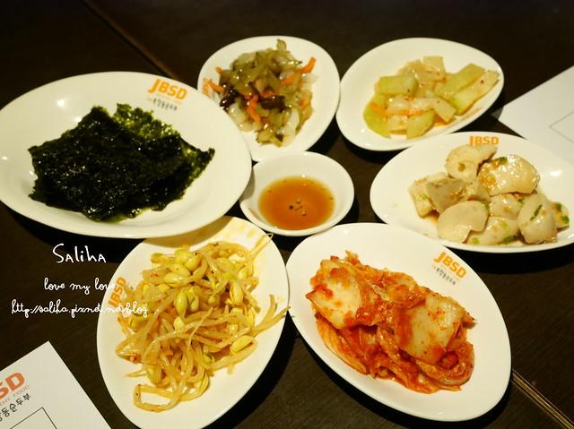 台北東區韓式料理韓式小菜吃到飽涓豆腐 (1)